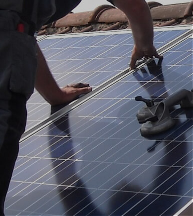 panneaux solaires photovolatiques